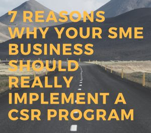 A Paper of why you need to consider a CSR progra